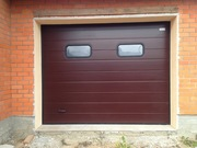 Ворота гаражные секционные. Доставка,  монтаж,  гарантия.