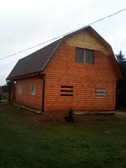Дом(брус) сруб 9х7 Владимир установка в Жлобине